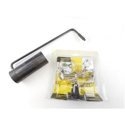 TRIGGER WEIGHT CHECKER AND MAGNIFYING GLASS