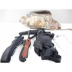 FULL BODY HARNESS COMPONENTS WITH INSTRUCTIONS AND CARRYING CASE