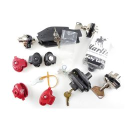 ASSORTED TRIGGER LOCKS WITH KEYS