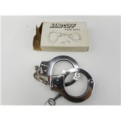 HANDCUFFS WITH KEYS, IN BOX