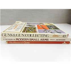 ASSORTED GUN COLLECTING BOOKS