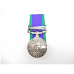 BRITISH NAMED GENERAL SERVICE MEDAL