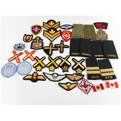 CANADIAN MILITARY RANK AND BADGE'S