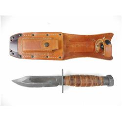 ONTARIO 9-87 PILOT'S SURVIVAL KNIFE WITH SHEATH