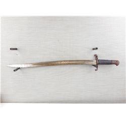 BRITISH YATAGHAN SWORD BAYONET FOR SNIDER SHORT RIFLE