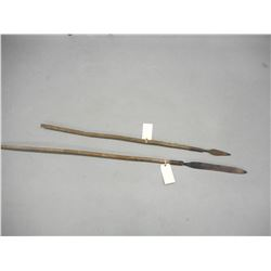 HUNTING TYPE SPEARS LOT