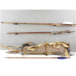 DECORATIVE BOX WITH QUIVER AND ARROWS