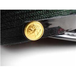CANADIAN GREEN MILITARY CAP