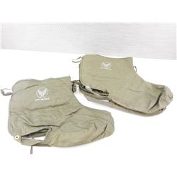 US ARMY AIR FORCE HEATED BOOT LINERS