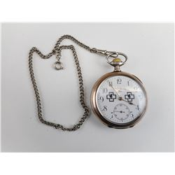 WWII GERMAN U-BOAT 310 BJORN POCKET WATCH