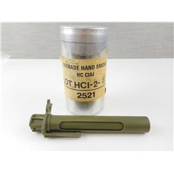CANADIAN MILITARY SMOKE CANISTER AND GLOW STICK