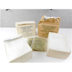CANADIAN MILITARY FIELD RATIONS