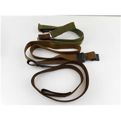 ASSORTED MILITARY TYPE SLINGS
