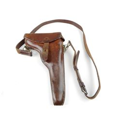 SWISS M1906 LUGER HOLSTER WITH STRAP