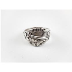 REPRODUCTION WWII GERMAN SILVER RING
