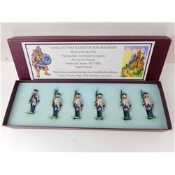 SCOTTISH TOY SOLDIER COMPANY 1700'S FRENCH INFANTRY TOY SOLDIERS