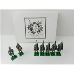QUEEN VICTORIA'S ENT. GERMAN INFANTRY 1914 TOY SOLDIERS