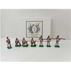 QUEEN VICTORIA'S ENT, 49TH REGIMENT WAR OF 1812 TOY SOLDIERS