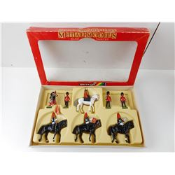 BRITAINS, HRM WITH SCOTS GUARDS TOY SOLDIERS