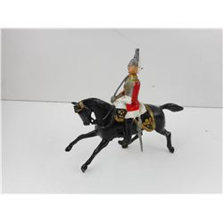 UNKNOWN TOY MOUNTED HORSEMAN