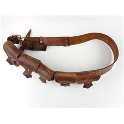 WWII CANADIAN .303 LEATHER BANDOLIER