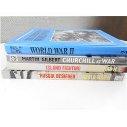 ASSORTED WWII HISTORY BOOKS