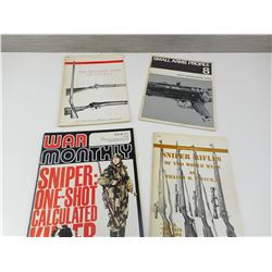 ASSORTED MILITARY ARMS BOOKS