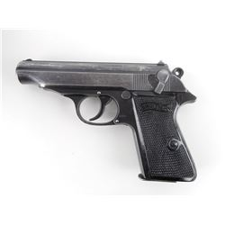 WWII ERA, WALTHER  , MODEL: PP , CALIBER: 7.65MM