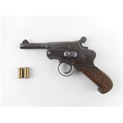 UNKNOWN  , MODEL: SINGLE SHOT , CALIBER: CUSTOM 303/8MM