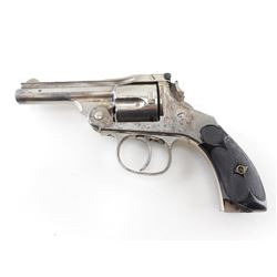 HOPKINS & ALLEN  , MODEL: TOP BREAK AUTO EJECT  , CALIBER: 38 S&W