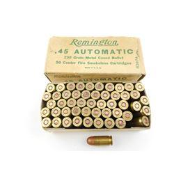 REMINGTON .45 AUTOMATIC AMMO