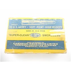 DOMINION .30 U.S. ARMY AMMO