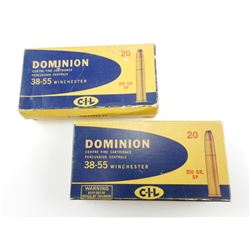 DOMINION 38-55 WIN ASSORTED AMMO
