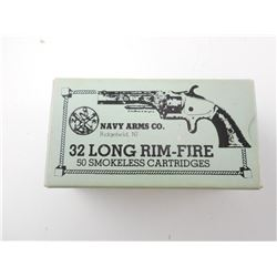 NAVY ARMS CO. 32 LONG RIM-FIRE AMMO