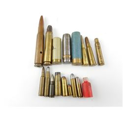 COLLECTIBLE MILITARY AND WINCHESTER AMMO
