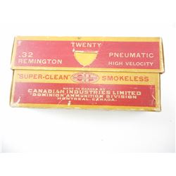 CIL (DOMINION) .32 REMINGTON PNEUMATIC AMMO