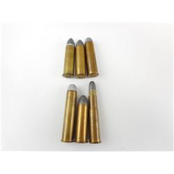 COLLECTIBLE AMMO INCLUDING 40-70, 50-110 EX, 50-70,