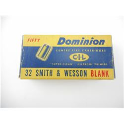 DOMINION 32 SMITH & WESSON BLANKS