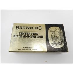BROWNING 35 REM SOFT POINT ROUND NOSE AMMO