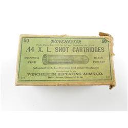 WINCHESTER .44 X.L. SHOT CARTRIDGES
