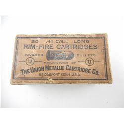 UMC .41 LONG RIM-FIRE AMMO