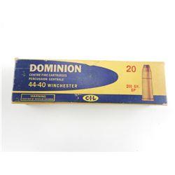 DOMINION 44-40 WIN AMMO