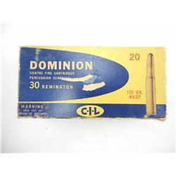 DOMINION 30 REM AMMO