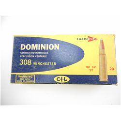 DOMINION 308 WINCHESTER AMMO