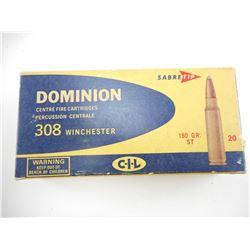 DOMINION 308 WIN AMMO