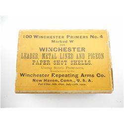 WINCHESTER PRIMERS NO. 4