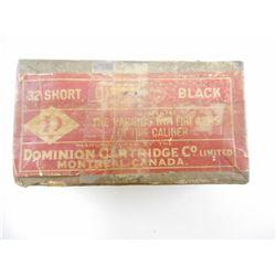 DOMINION 32 SHORT BLACK AMMO
