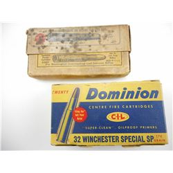 32 WIN SPECIAL, .32 REM AMMO