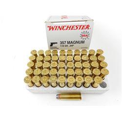 WINCHESTER 357 MAGNUM AMMO