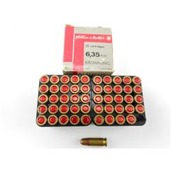 SELLIER & BELLOT 6.35MM BROWNING AMMO